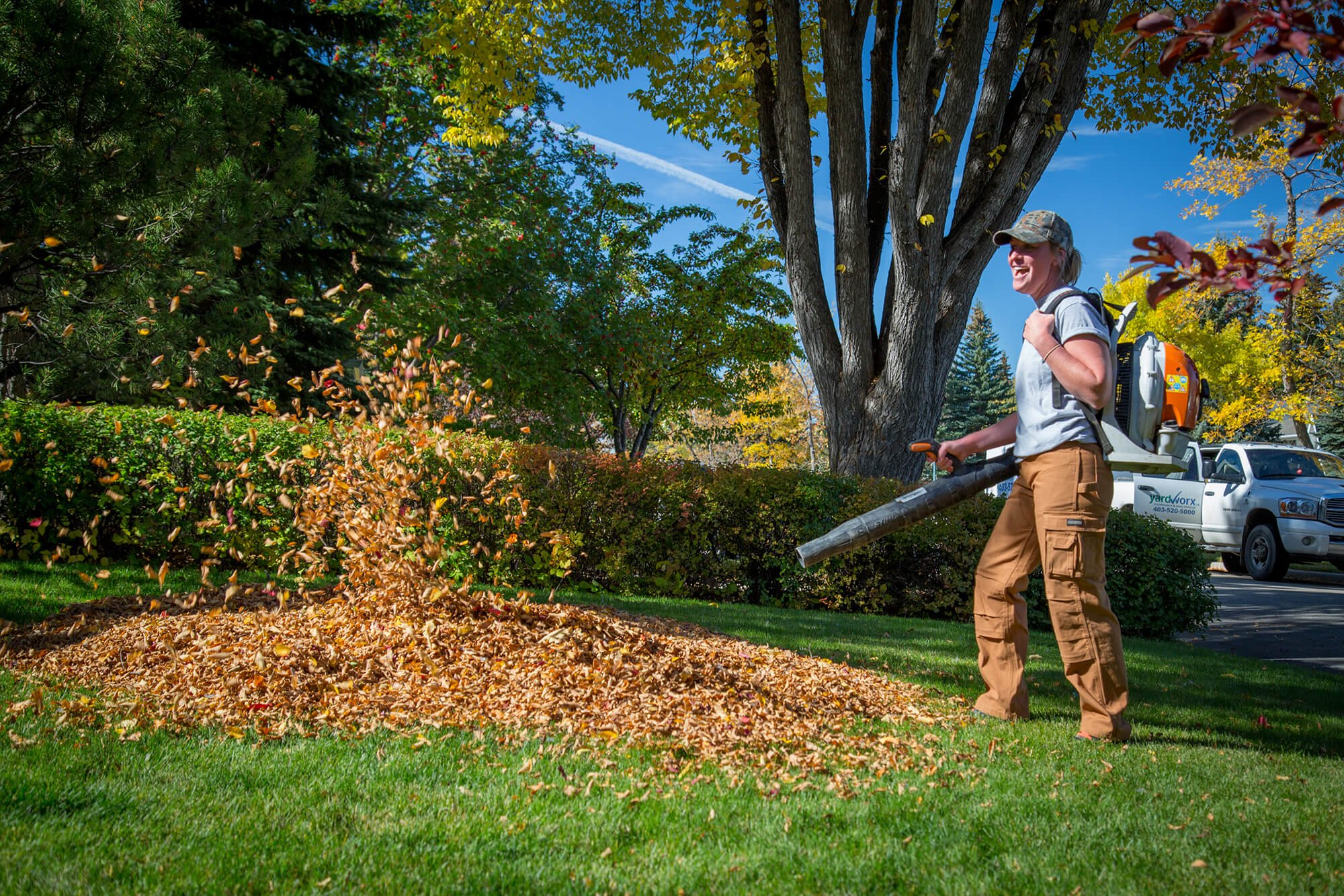 Fall Clean Up Services Calgary