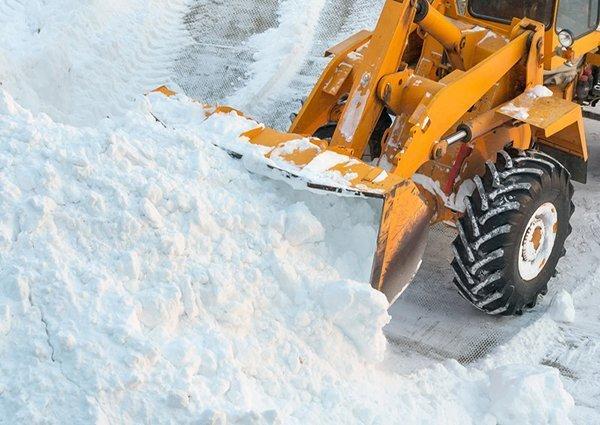 sidewalk snow removal edmonton